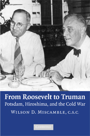 From Roosevelt to Truman