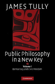 Public Philosophy in a New Key