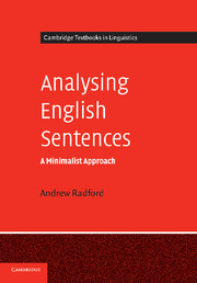Analysing English Sentences