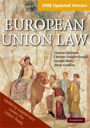 European Union Law Book and Updating Supplement Pack