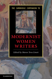 The Cambridge Companion to Modernist Women Writers