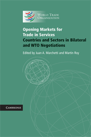 Opening Markets for Trade in Services