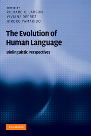 The Evolution of Human Language