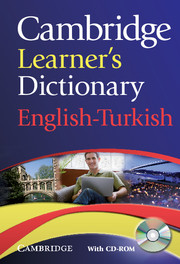 Cambridge Learner's Dictionary English-Turkish