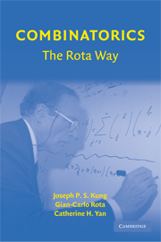 Combinatorics: The Rota Way