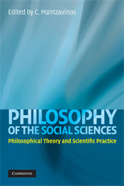 Philosophy of the Social Sciences