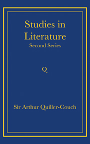 Writings of Arthur Quiller-Couch