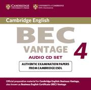 Cambridge BEC 4 Vantage