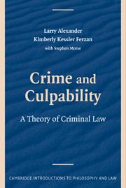 Crime and Culpability