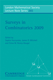 Surveys in Combinatorics 2009