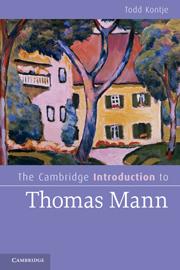 The Cambridge Introduction to Thomas Mann