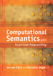 Computational Semantics with Functional Programming