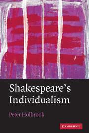 Shakespeare's Individualism