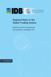 Regional Rules in the Global Trading System