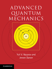 Advanced Quantum Mechanics