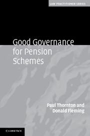 Good Governance for Pension Schemes