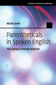 Parentheticals in Spoken English