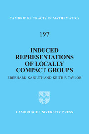 Induced Representations of Locally Compact Groups