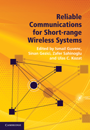 Reliable Communications for Short-Range Wireless Systems