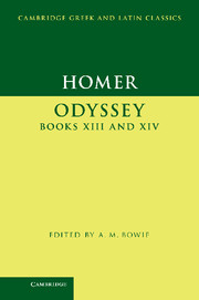 Homer: Odyssey Books XIII and XIV