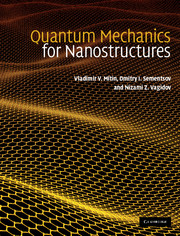 Quantum Mechanics for Nanostructures