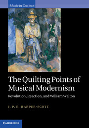 The Quilting Points of Musical Modernism