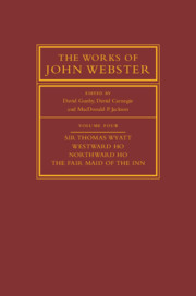 The Works of John Webster