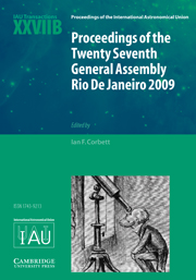 Proceedings of the Twenty Seventh General Assembly Rio de Janeiro 2009