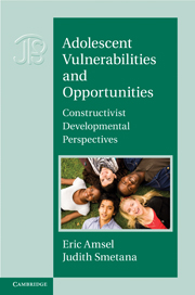 Adolescent Vulnerabilities and Opportunities