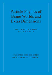 Cambridge Monographs on Mathematical Physics
