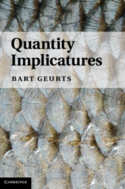 Quantity Implicatures