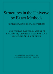 Structures in the Universe by Exact Methods