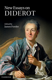 New Essays on Diderot
