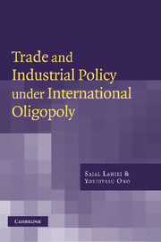 Trade and Industrial Policy under International Oligopoly