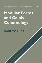 Modular Forms and Galois Cohomology