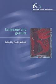 Language and Gesture