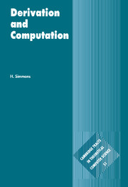 Derivation and Computation