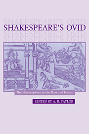 Shakespeare's Ovid