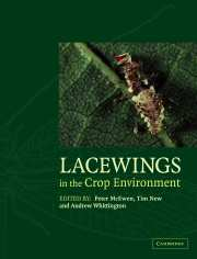 Lacewings in the Crop Environment