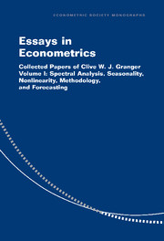 Essays in Econometrics