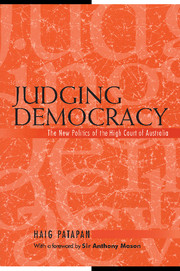 Judging Democracy