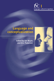 Language and Conceptualization