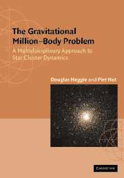 The Gravitational Million–Body Problem