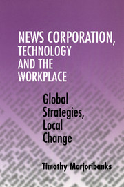 News Corporation, Technology and the Workplace