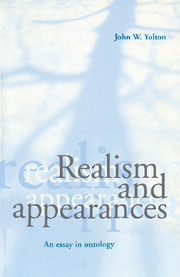 Realism and Appearances