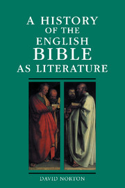A History of the English Bible as Literature