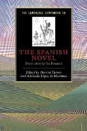 The Cambridge Companion to the Spanish Novel