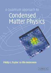 A Quantum Approach to Condensed Matter Physics