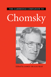 The Cambridge Companion to Chomsky