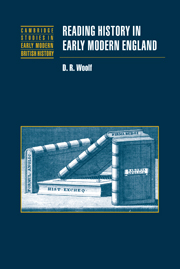 Reading History in Early Modern England